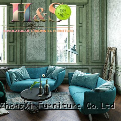 modern small tufted sofa Supply