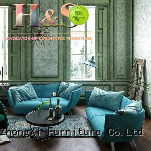 modern small tufted sofa Supply