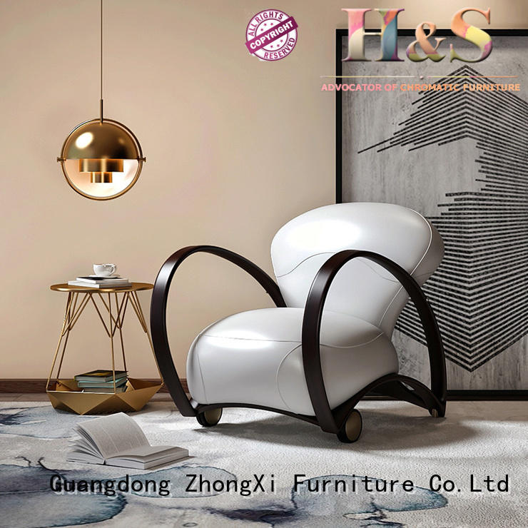 HS High-quality navy occasional chair furniture at home