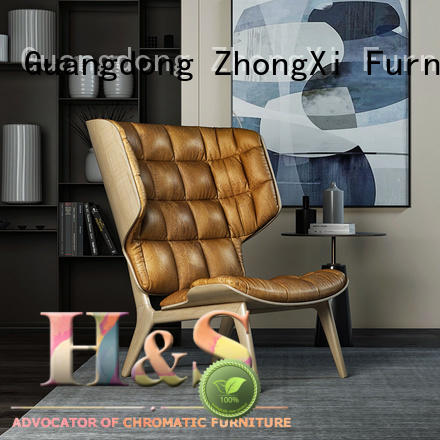 HS new high end lounge chairs product design indoor