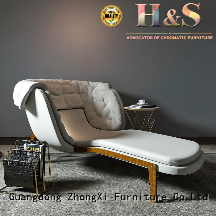 HS High-quality charles eames lounge chair and ottoman for business at home
