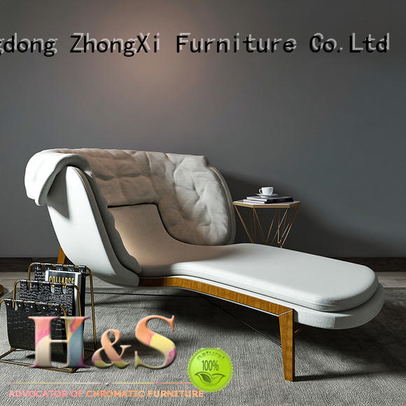 HS High-quality chaise and a half lounge for business in living room